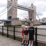 Family of 5 in London for 46 Pounds Per Person Per Day