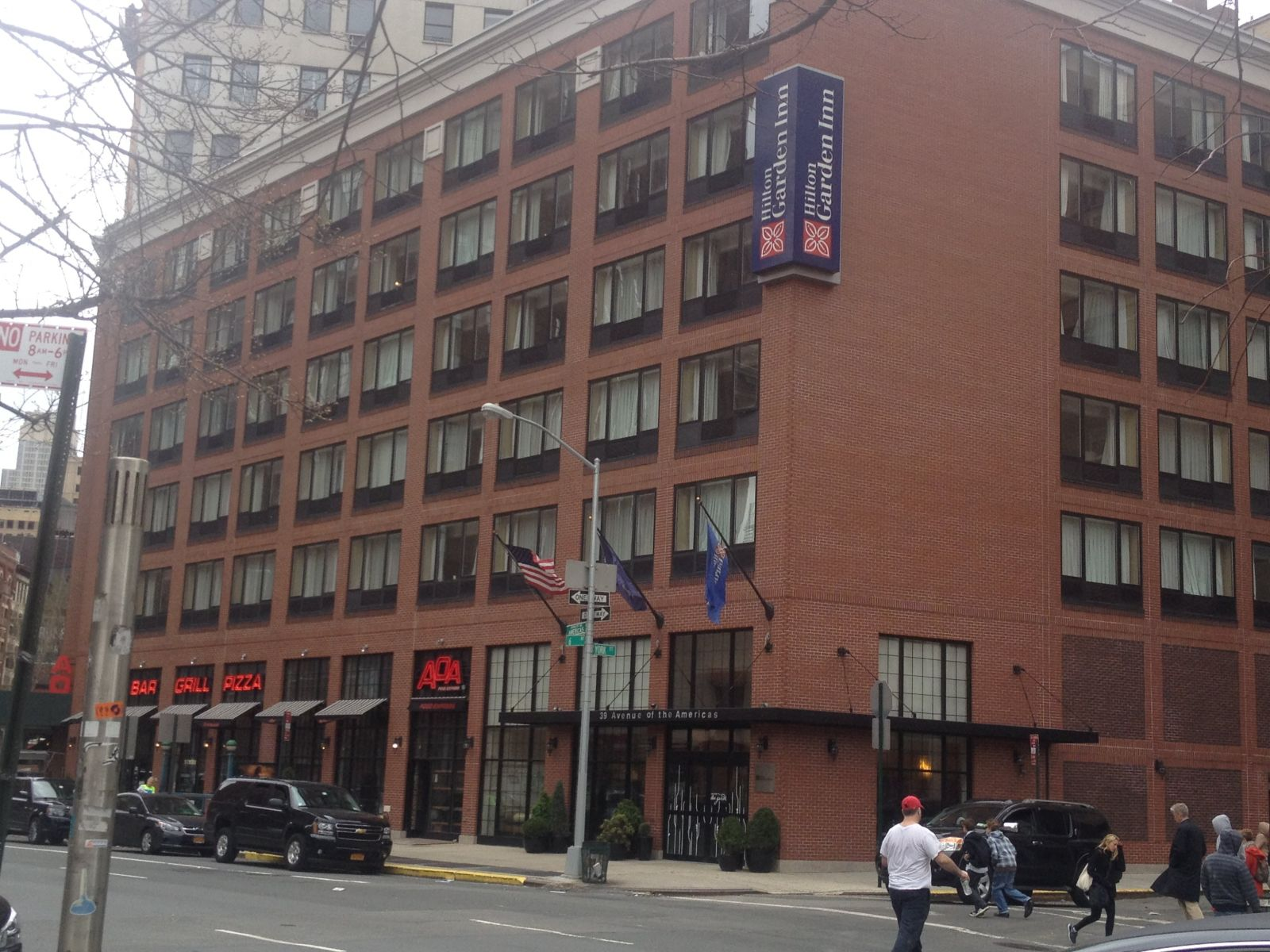Hilton Garden Inn New York Tribeca Hotel Room Sleeps 5