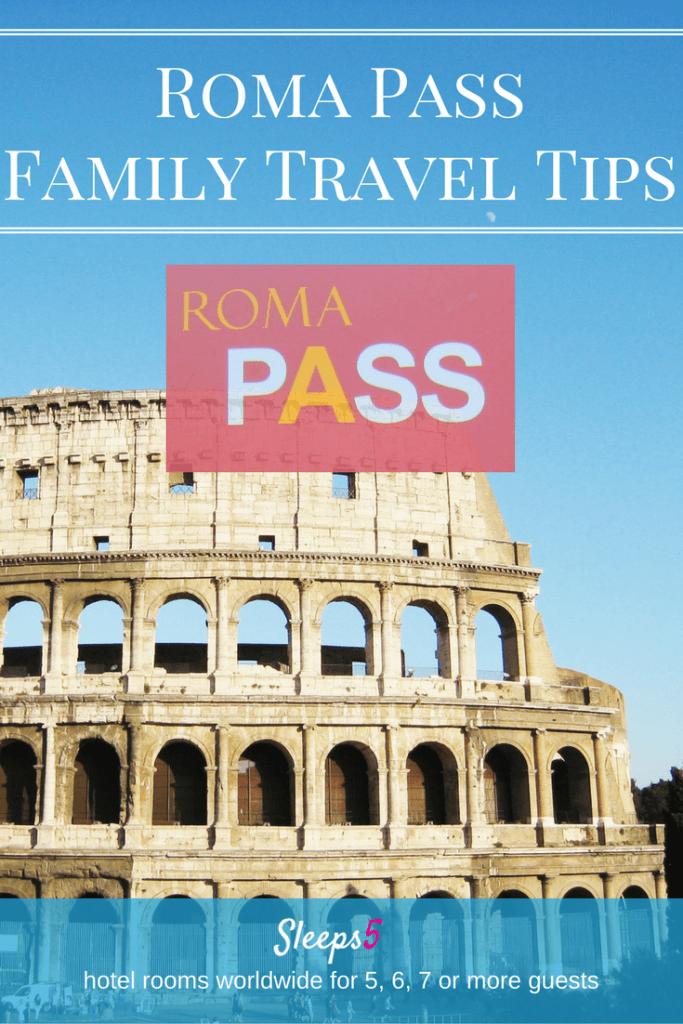 Family Travel Roma Pass Tips