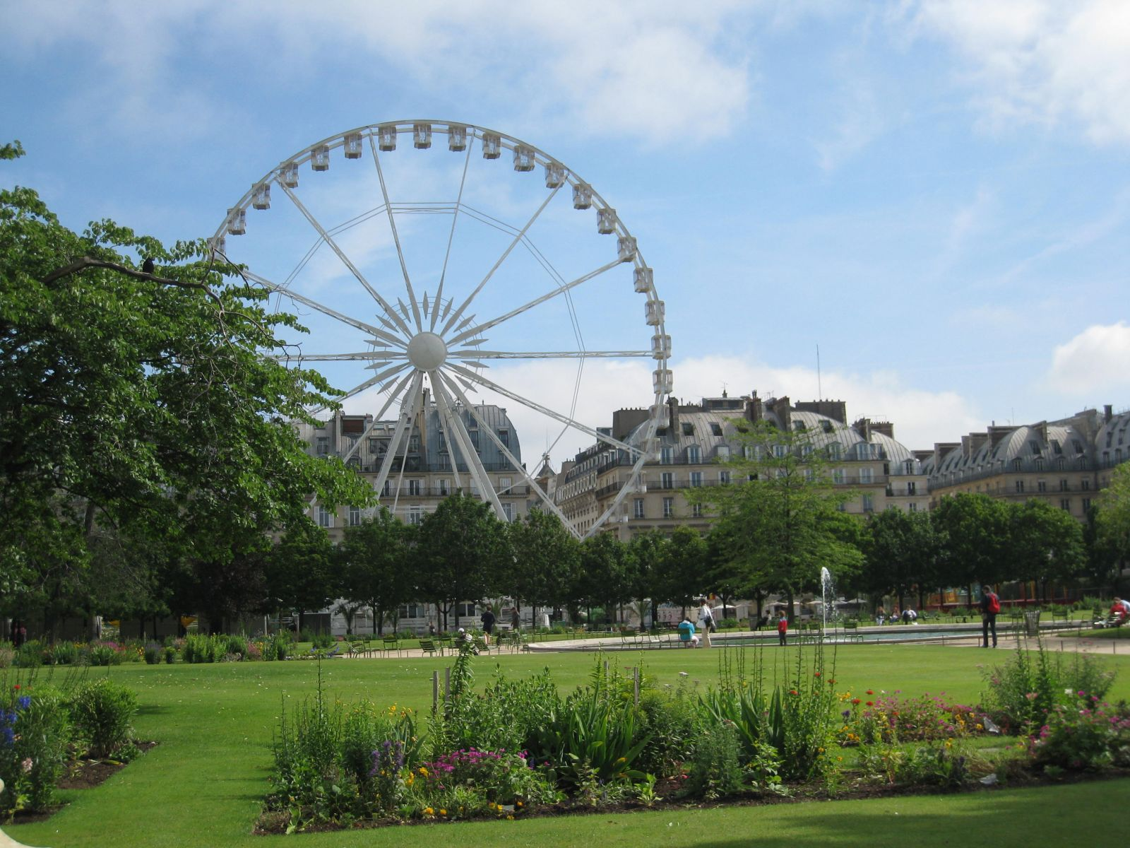 Tuileries Garden View