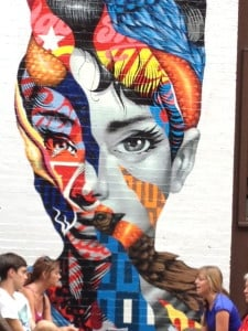 New York City Little Italy wall mural