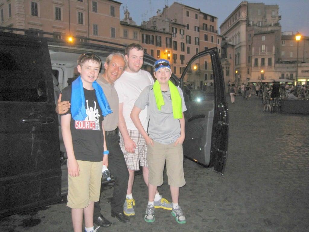 Rome 89 Euros Per Person Per Day