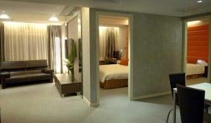 Cosmo Hotel Orange 2 -Bedroom 2-Bathroom Suite
