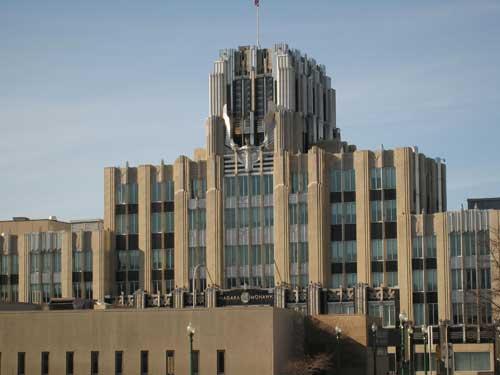 Syracuse Niagara Mohawk building