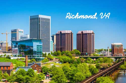 Richmond VA Hotel Family Rooms for 5