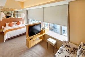 Dorsett Mongkok Hotel Family Quad Room Sleeps 5