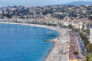 Promenade des Anglais in Nice, France