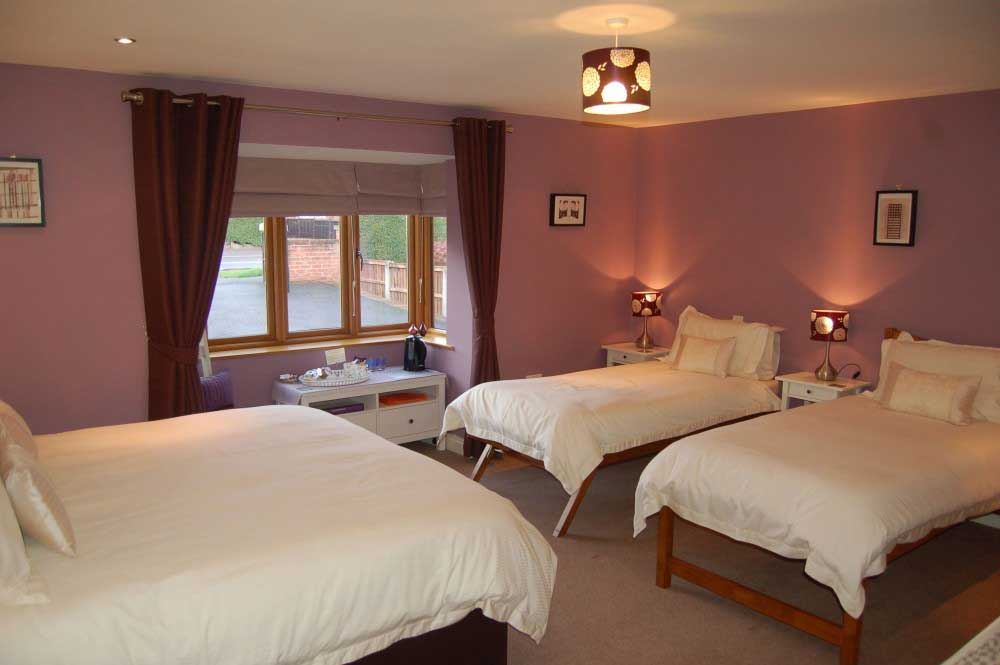 Derbyshire Rennie Rose Guesthouse Sleeps 5 6