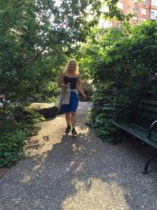 Teardrop Park Battery Park City