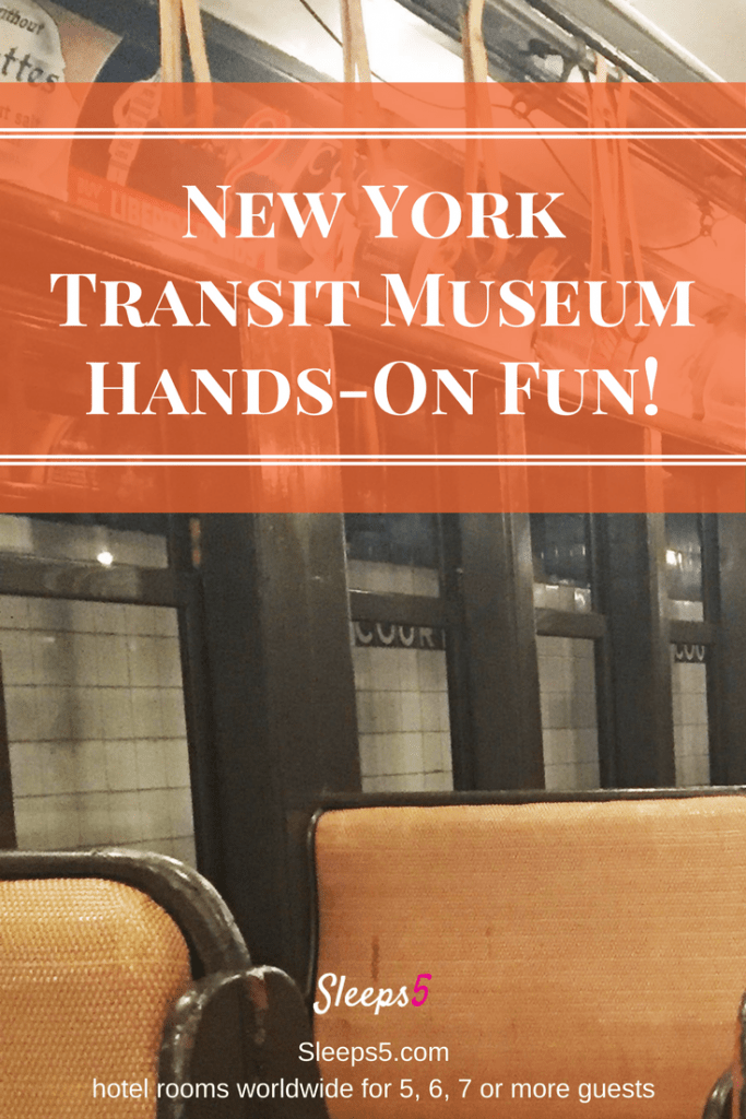 New york transit museum a great place for families for Nyc transit museum hours