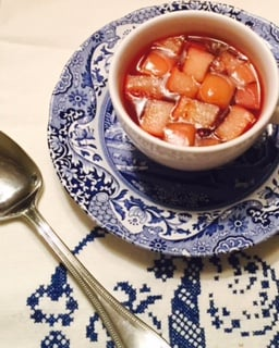scandinavian Fruit soup