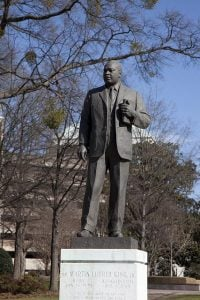 Statue of Dr. Martin Luther King, Jr., Black History Month Places to Visit